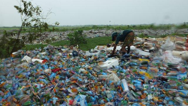 Present situation of open dumpsite at