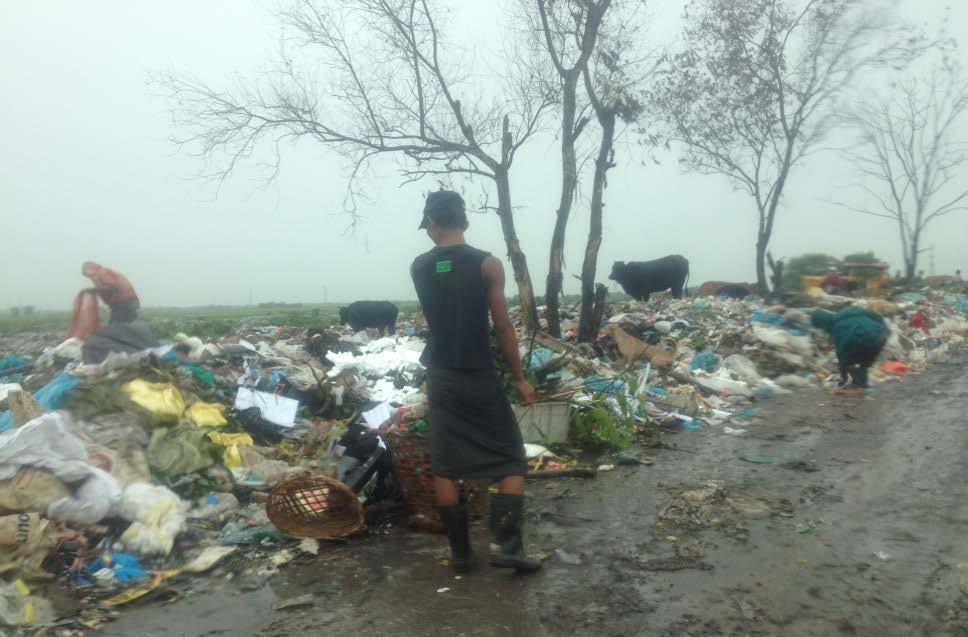 dumpsite in YCDC 847 tonnes of incoming
