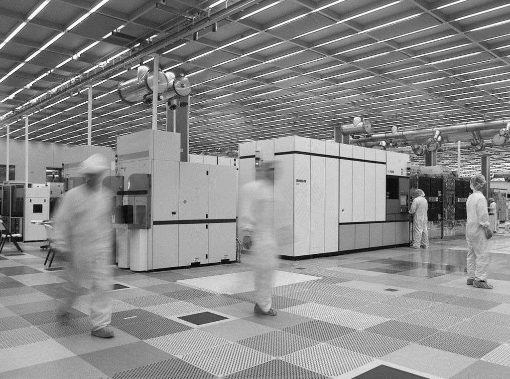 Fabrication Chips are built in huge factories called fabs Contain clean rooms as large as football fields