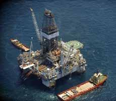 who was drilling in Black Sea continental platform.