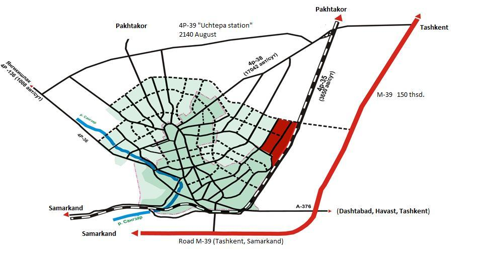 FREE ECONOMIC ZONE JIZZAKH GENERAL PLAN OF FEZ JIZZAKH
