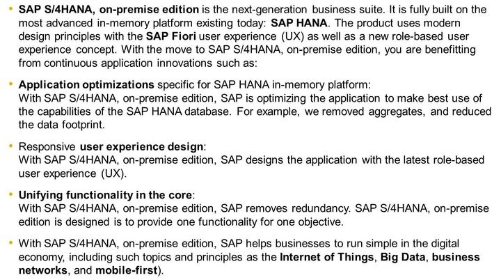 4/21/2018 SAP e-book Unit 2 Lesson 1 SAP S/4HANA Conversion - Overview LESSON OVERVIEW LESSON OBJECTIVES After completing this lesson, you will be able to: