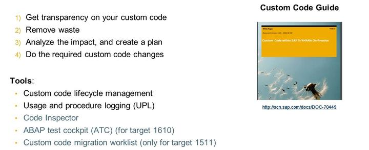 Conversion - Custom Code Related Process