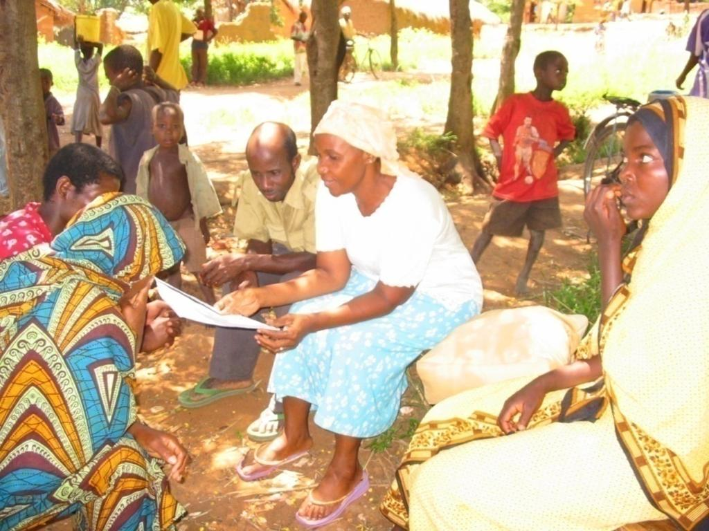 Determining PHE intervention Was achieved through Participatory Rural Appraisal (PRA)