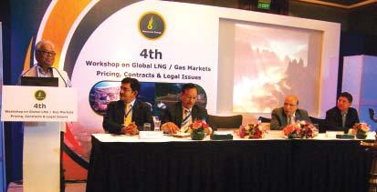 News Experts discuss Global Gas/LNG Markets, Pricing, Contracts and Legal issues The 4th Workshop on Global Gas / LNG Markets, Pricing, Contracts & Legal Issues was organised by Resonance Energy on