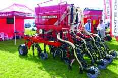 Lighter, narrower and mounted, the Dale Drills eco3 model is aimed at smaller farmers looking to move to the benefits of direct drilling.