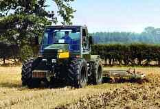After three series of prototypes 14 models in all the JCB Fastrac was launched commercially at the Royal Show in 1991. than the chassis a patented feature of the Fastrac.