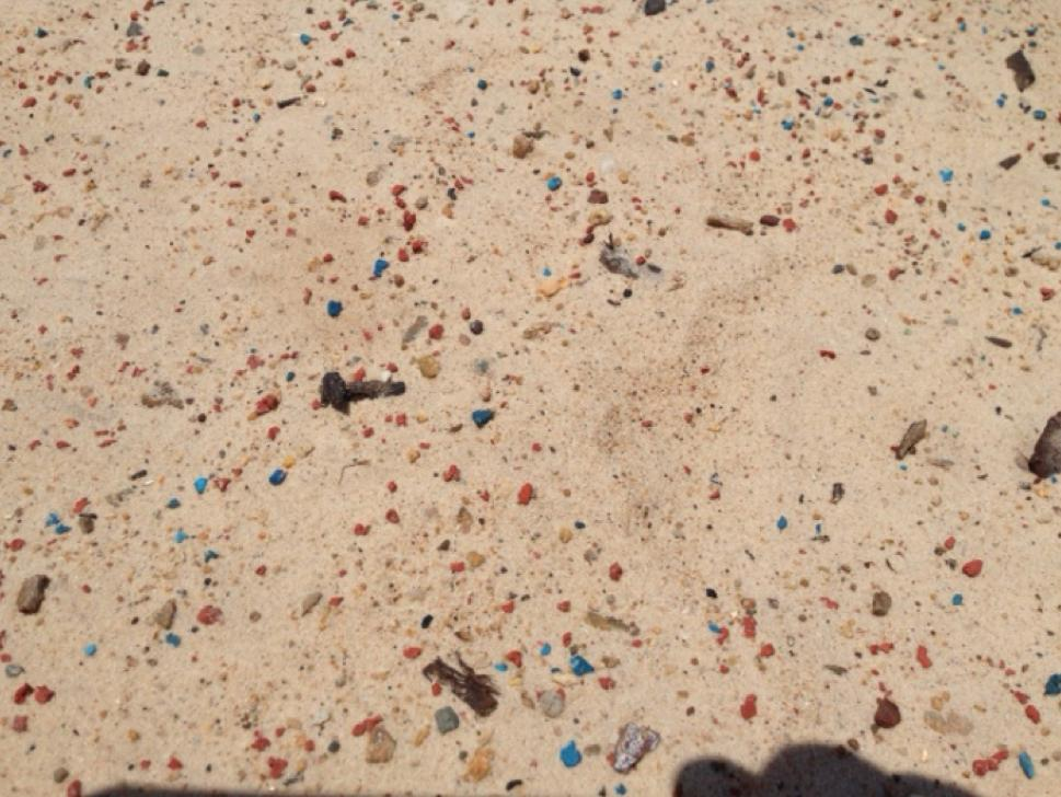 Microplastics Incident Example (Brisbane) Last year Boomerang Alliance found microplastics on a beach in Manly (Manly Foreshore Park) What we found was alarming and the highest concentration of