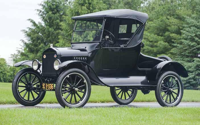 history reproduction Model T Ford: the great-grandfather of flex-fuel cars 30 lex-fuel cars now being F driven around Brazil and the world are the great grandchildren of the Ford Model T, which was
