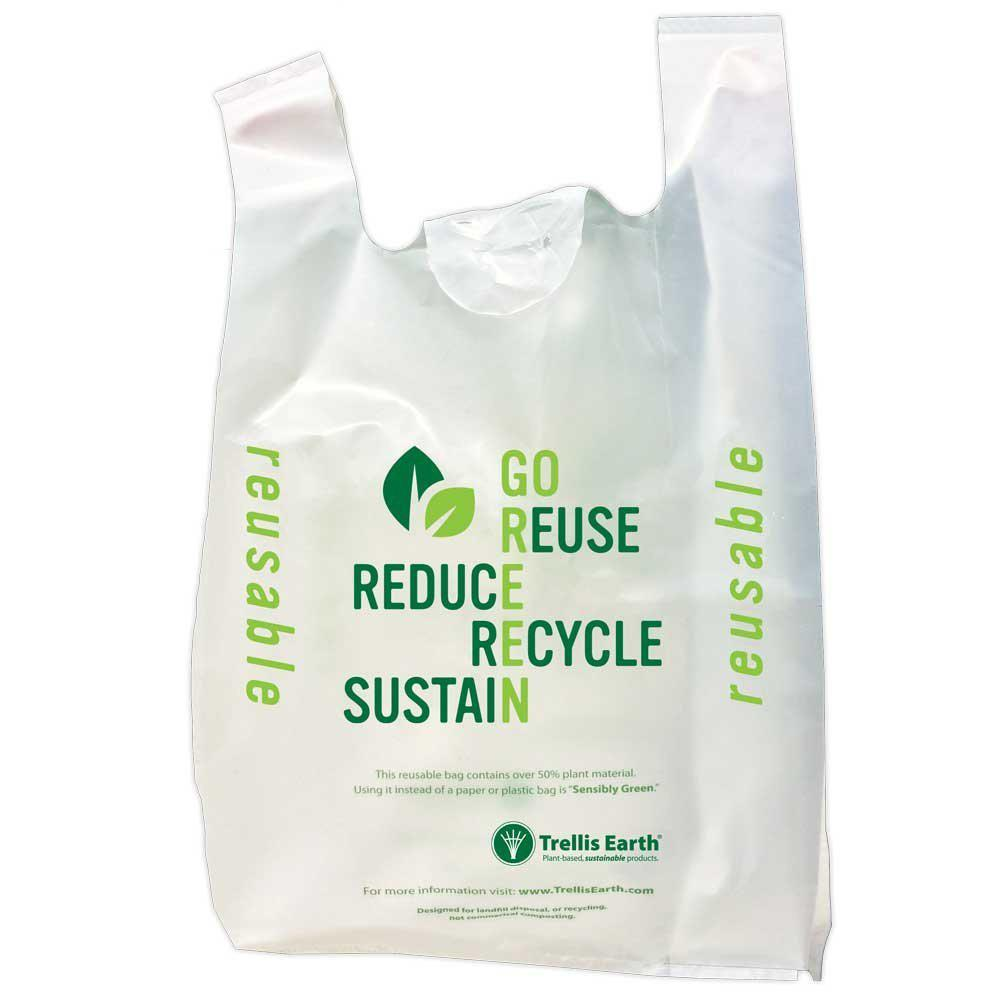 Bioplastic carrier bags a step forward Plastic shopping bags: Highly functional and controversially discussed Undoubtedly, lightweight plastic shopping carrier bags are a most convenient and useful