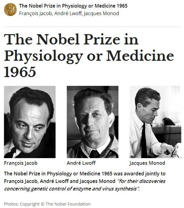 In 1961, Jacques Monod and François Jacob proposed the revolutionary idea that genes could be regulated.