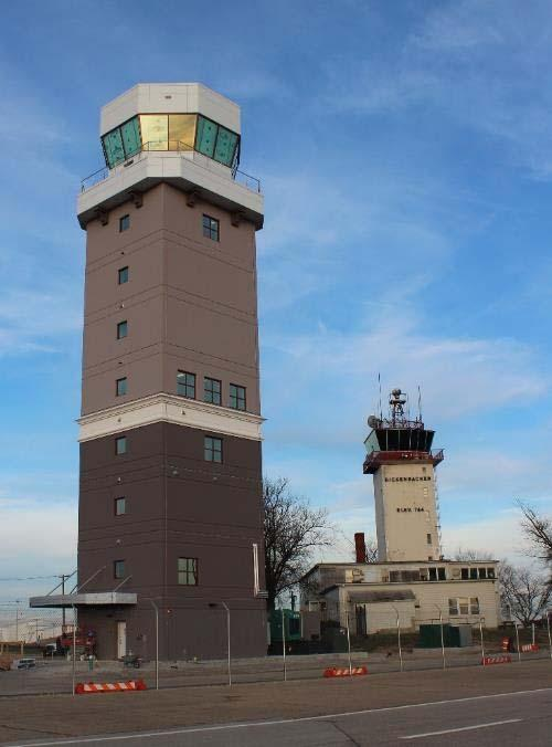 A new state-of-the art Air Traffic Control Tower Continues to serve Military and Civilian aircraft 24x7x365 New ATCT