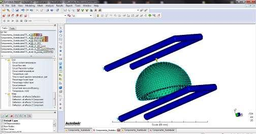 Methods and techniques for bio-system s materials behaviour analysis Leonard Gabriel MITU In the first phase of the research, the drawing of the acetabular cup is done in Solidworks software as it is