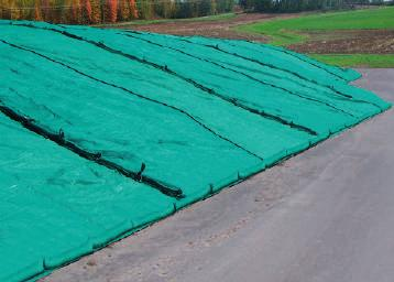 pit covers PIT COVERS Eliminates the need for tyres. Helps prevent bird damage to sheets and feed face. Prevents tyre wire disease. Helps to reduce surface waste.