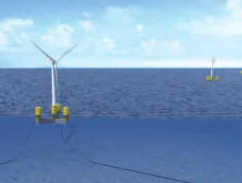 Floating wind turbine design approved BUREAU VERITAS DCNS Energies has received preliminary design approval from classification society Bureau Veritas (BV) for its floating offshore wind turbine