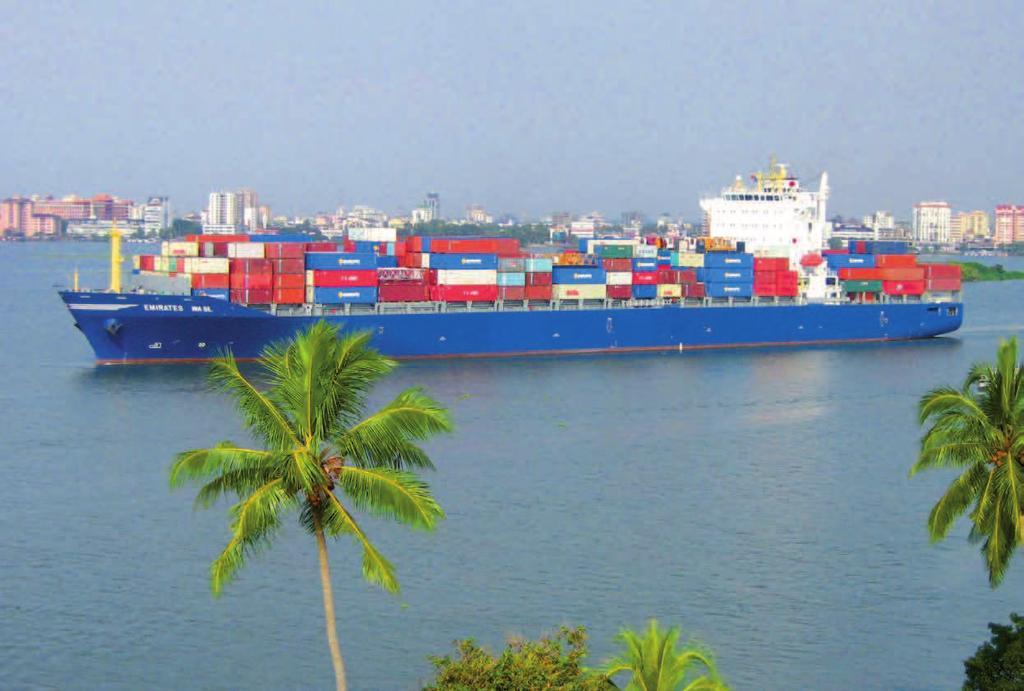 SHIP OPERATION SHIPPING & PORT INDUSTRY IN INDIA The Port of Cochin in India India aspires to reach international standard MARITIME AGENDA 2020 With the aid of the Maritime Agenda, the Indian