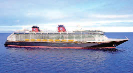 The three latest ships are about 135,000gt, designed with some 1,250 staterooms and therefore slightly larger than the most recent Disney Cruise Line vessels, the Disney Dream and the Disney Fantasy,