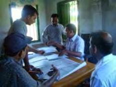 Chapter 2: Participatory Planning Process The participants of the PCMs were local government representatives at upazila level (Chairman and Vice- Chairmen), at village level (Chairmen and members),
