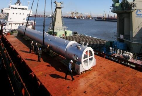 out-ofgauge, heavy-lift and oversized cargoes and arrange handling of these cargoes