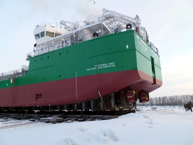rubles Construction start: 2011 Commissioning: 2012-2014 Specifications: crew 12 persons; speed 11,7