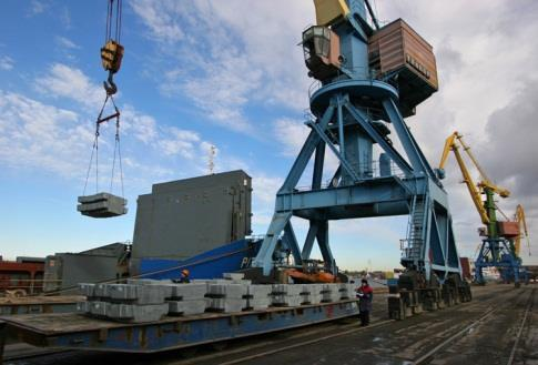 UCL Port: stevedoring services Total cargo turnover - 32,6 mln tons