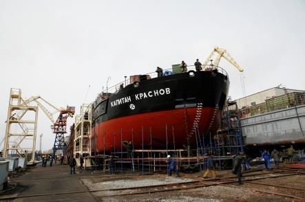 ru This division builds and repairs vessels of Russian