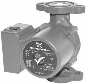 Components: Pumps Types of pumps: Single speed drive Multiple speed drive high, medium, low Variable speed drive