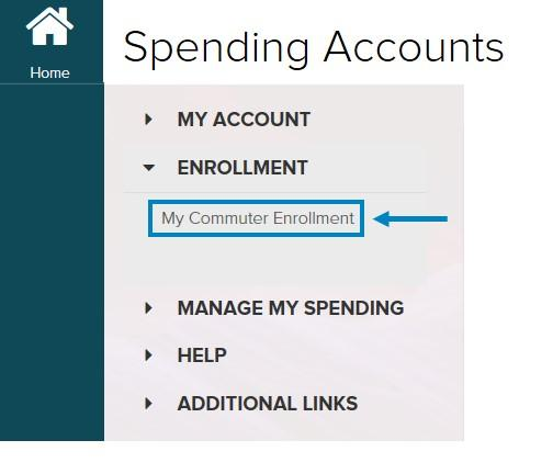 To place your first commuter order, you ll need to select My Commuter Enrollment