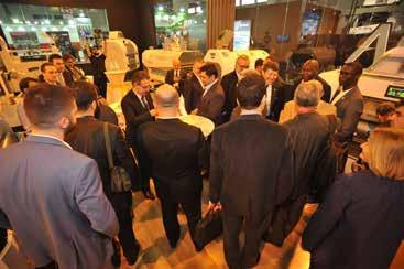 While 58 foreign companies directly participated in the exhibition, 23 of them took part with their