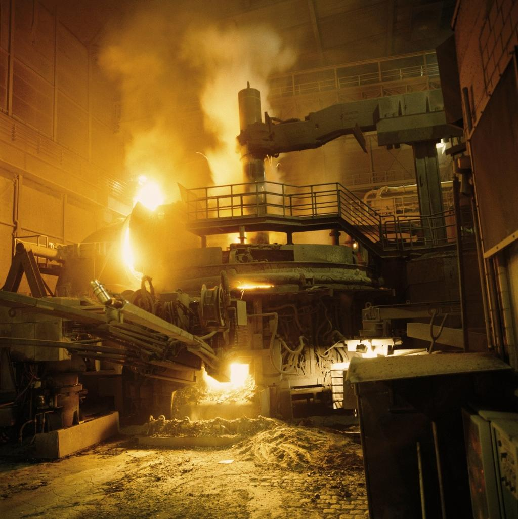 Steel Making Processes Use of Graphite Electrodes Graphite electrodes are used in so called mini mills.