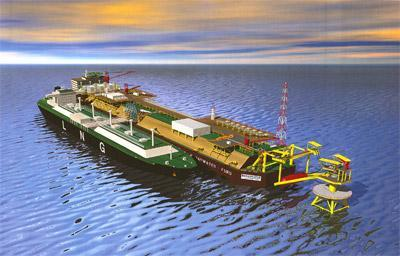 regasified Floating Storage and Regasification Unit -Terminal is a specially