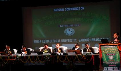 National Conference on IPR in Agriculture: Needs and Future Prospect The national Conference on Intellectual Property Right (IPR) in Agriculture: Needs and Future Prospect was organized at Bihar