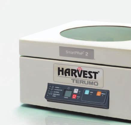 Today, the Harvest SmartPrep System platform is the gold standard in PRP technology.