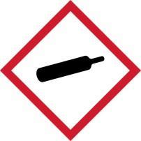 GHS Label elements, including precautionary statements Hazard Symbol Signal Word Hazard Statement Warning Contents under pressure, may explode if heated Warning May cause skin, eye or respiratory