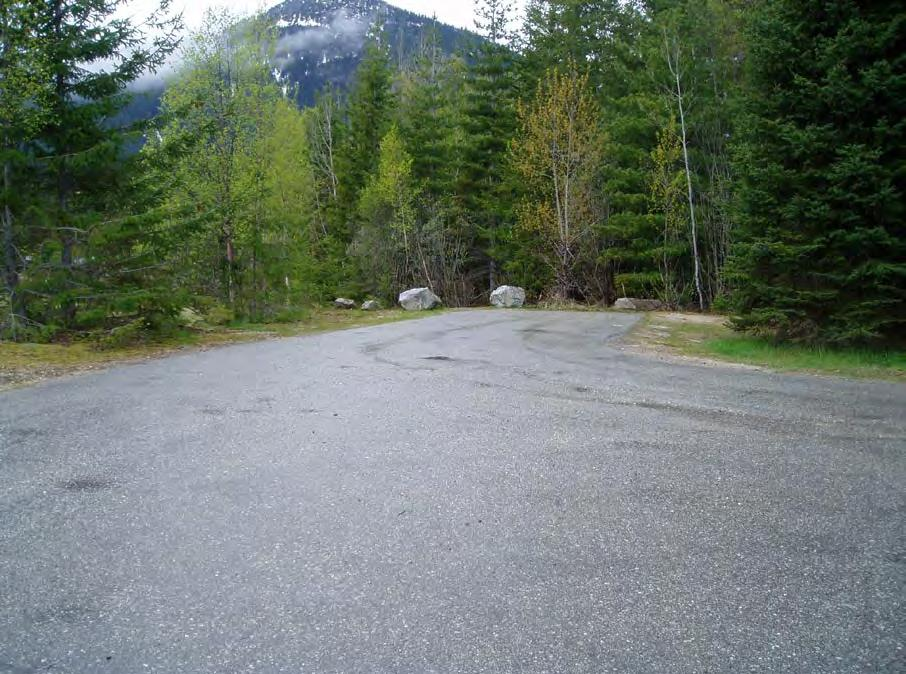 existing parking area at Shelter Bay ramp. Plate 8.