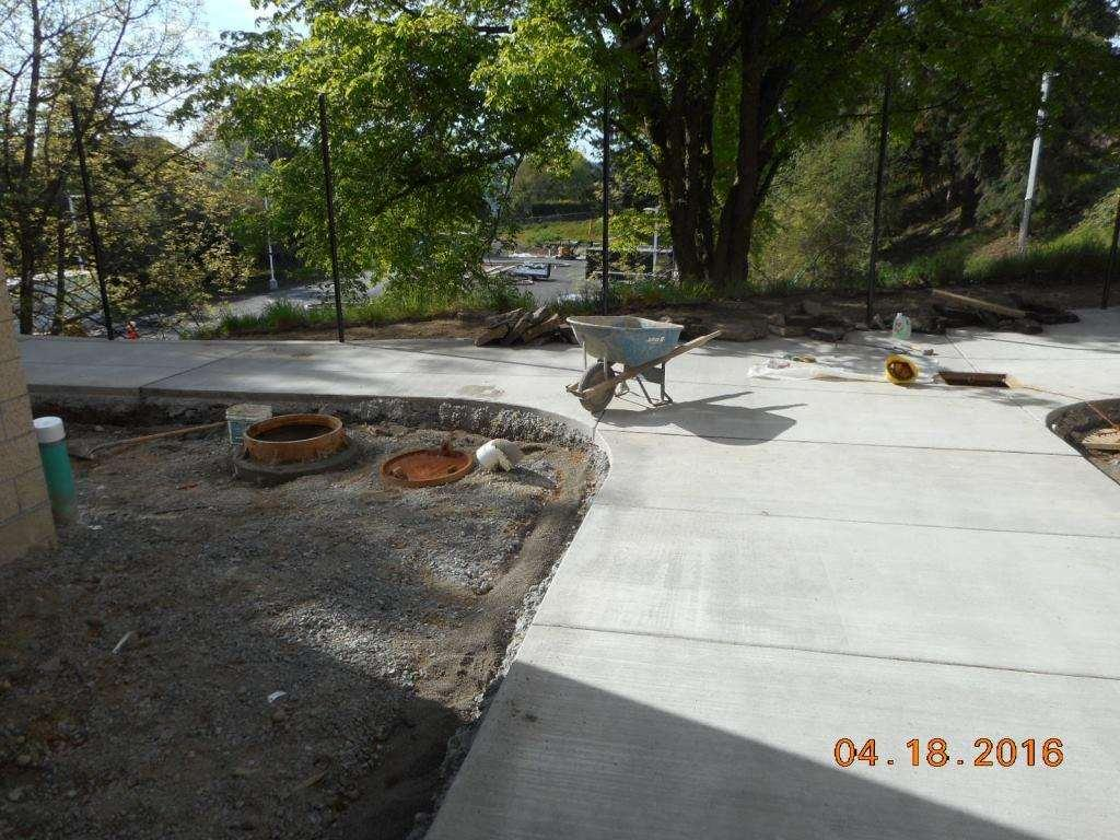 Genesee Hill Elementary School Site Installation of