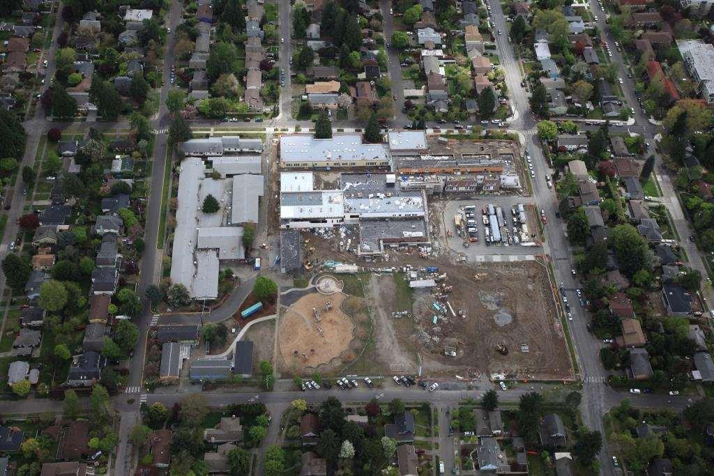 New Thornton Creek Building Aerial