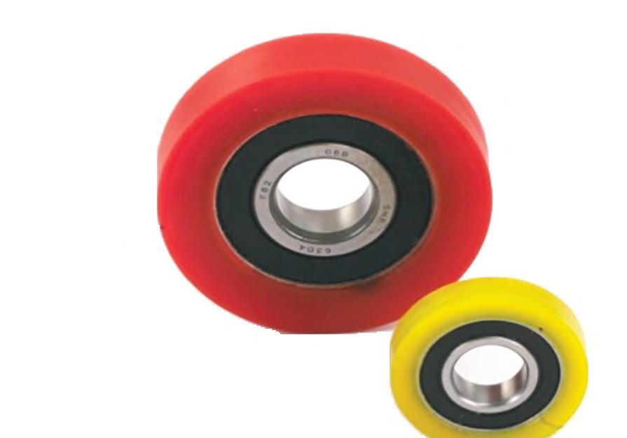 Overmolding onto sealed ball bearings Resistance to