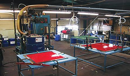 PROCESS POLYURETHANE MOULDING Machine gravity