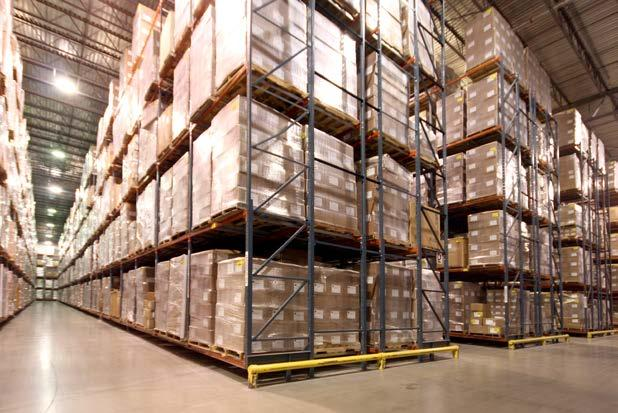 Robust Warehousing Network The Hanson Logistics network consists of nine customer-centric production warehouses and network-centric distribution facilities.