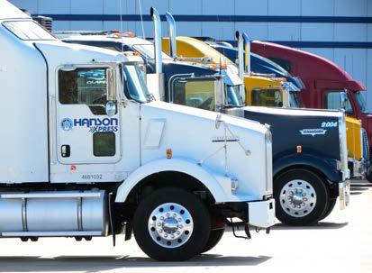 Transportation: Flexible and Effective Transportation Management Solutions Hanson Transportation Management Services provide cost-effective, service-oriented solutions for dry and refrigerated moves.