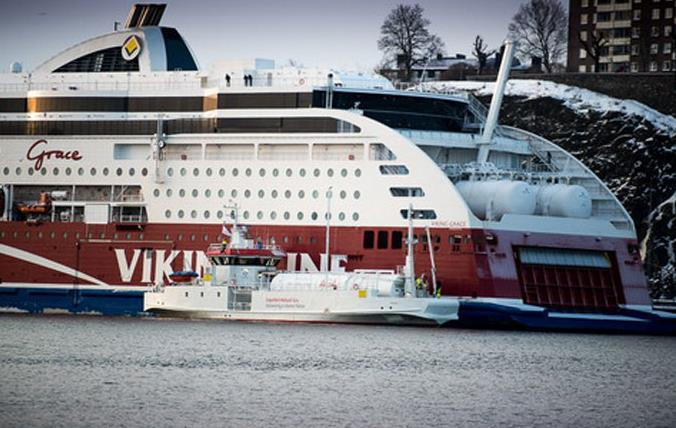 Experienced ship-to-ship LNG supplier: The world s first LNG bunker vessel SEAGAS Operations in Stockholm and Nynäshamn Experience: already 1500+ safe ship-to-ship bunkering operations