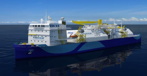 contract for a newbuild ferry LNG bunker operations in different Swedish ports