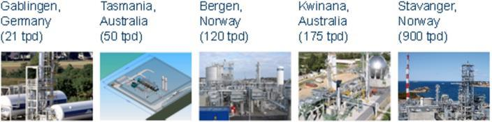 development of LNG infrastructure Nauticor (former Bomin Linde) was set up in 2012 in
