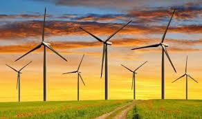 What are some alternative sources of energy? Wind energy is a renewable resource generated when the blades of wind turbines turn.