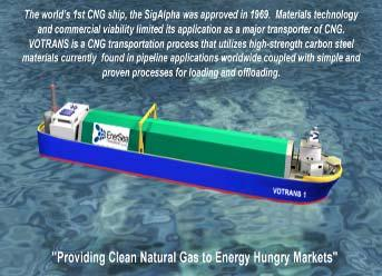 Recent CNG Carrier Concepts Knutsen OAS Shipping PressurisedNatural Gas -