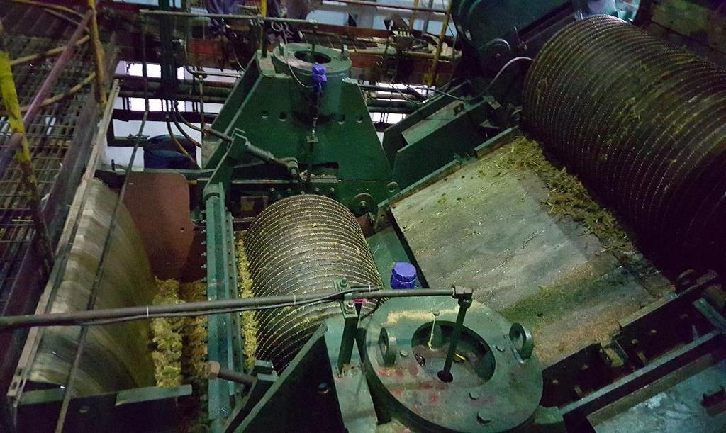 What is needed at distilleries to use sweet sorghum as feedstock Establish a crushing section