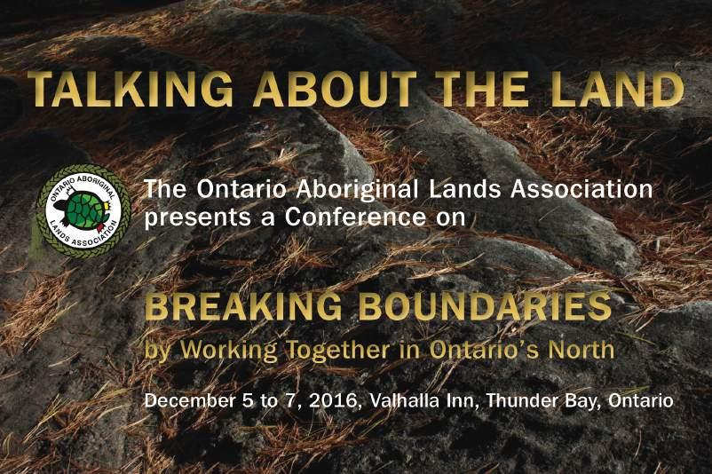 Linking Traditional Knowledge and Environmental Planning and Practice in Ontario: Deborah McGregor, University of Toronto Matrimonial Real Property on Reserves: Chris Angeconeb, COEMRP Land Based
