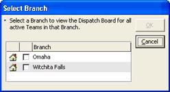 Dispatch Board Note: All ServiceCEO users with dispatch board viewing rights will be able to see the changes that you make on the Dispatch Board.
