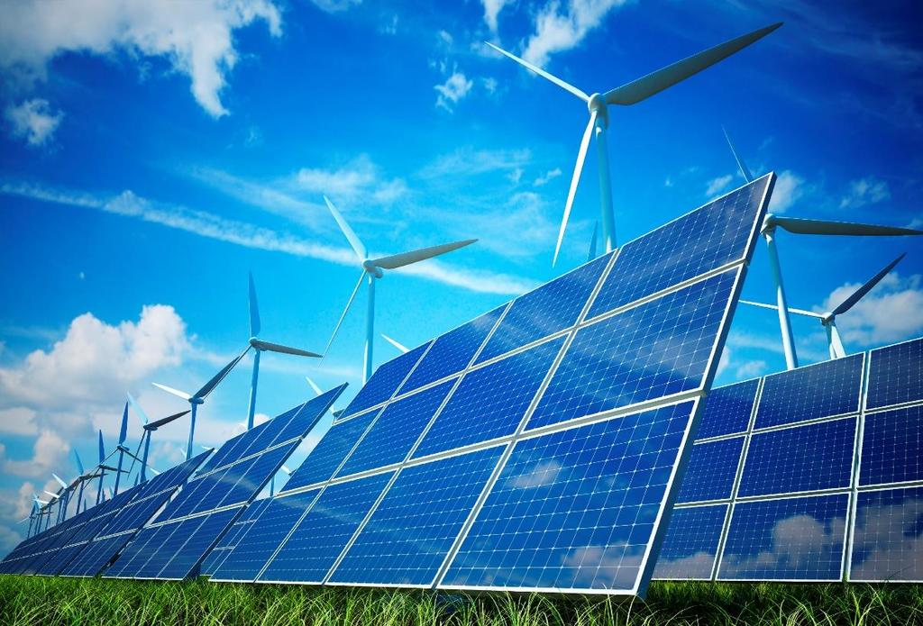 Renewable Renewable resources can be replenished over
